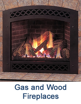 A full line of gas and wood burning fireplaces, stoves and inserts from Hearth & Patio, Huntington, WV